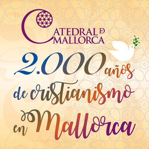 Diseño imagen evento exposición claustro Catedral de Mallorca