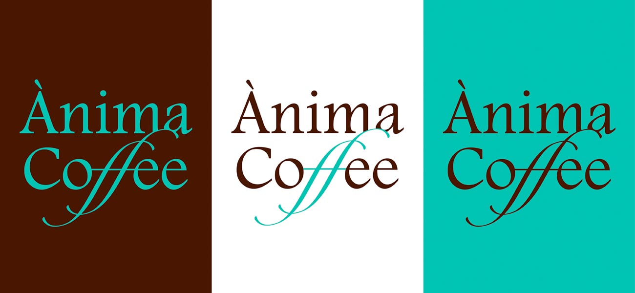 "Diseño de logotipo ""Ànima Coffee"""