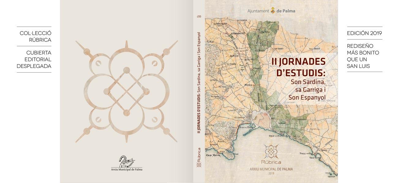 """Diseño editorial """"Col·lecció Rúbrica"""" Arxiu Municipal de Palma"""