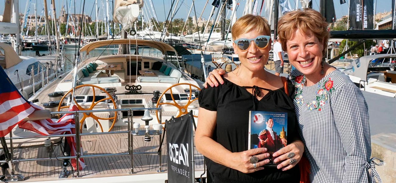 "Diseño portada editorial Estela Shipping ""Yachting Itineraries"""