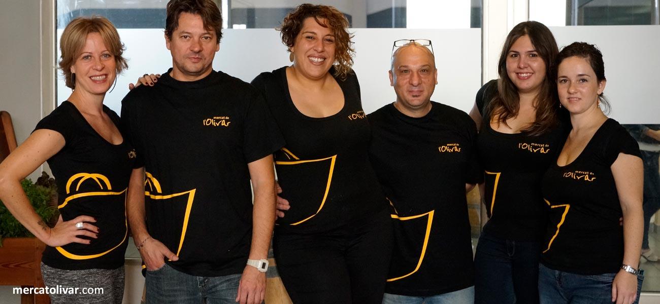 """Diseño de camiseta """"Mercat de l'Olivar"""""""
