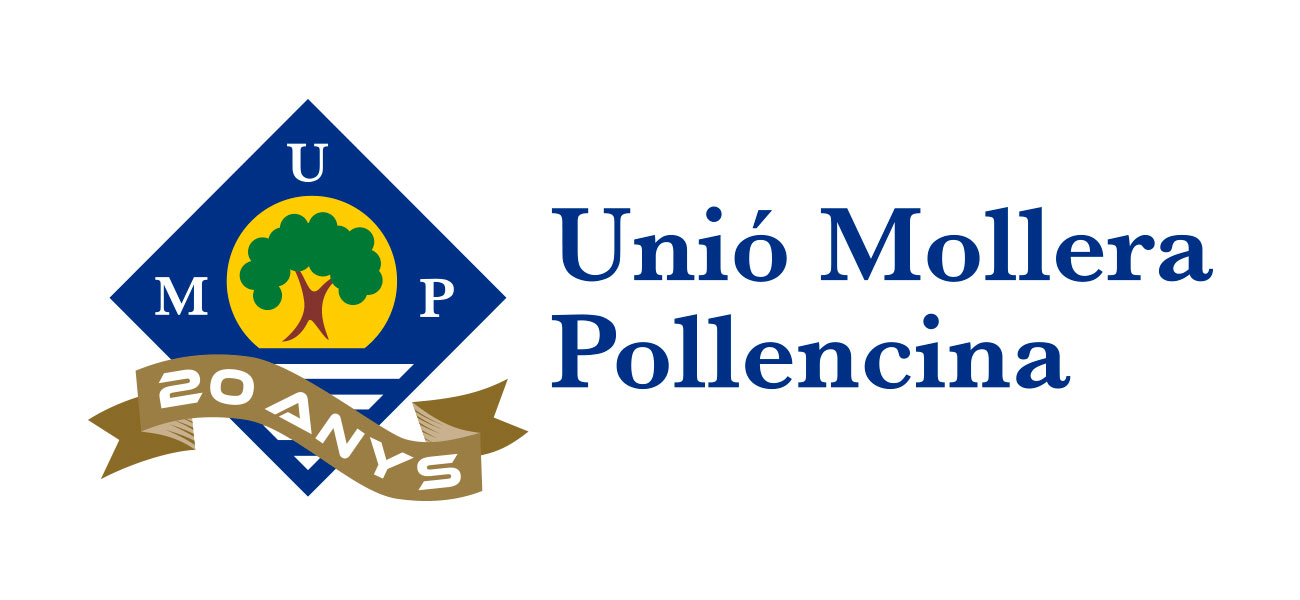 "Rediseño logotipo ""Unió Mollera Pollencina"" 20 anys UMP"